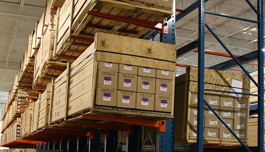 Storage system installation services.