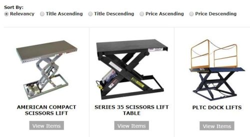 Autoquip lift products.