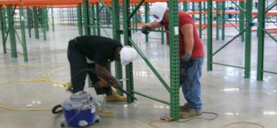 Installation of material handling solutions