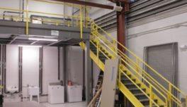 Warehouse mezzanines.