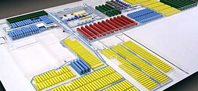 Material handling solution design and installation