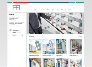 Hänel website - Automated storage systems