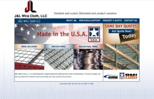 J&L Wire - Standard and custom fabricated wire product solutions