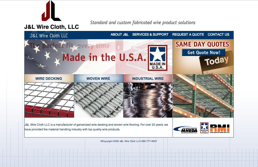 J&L Wire | Industrial Wiring | J&J Material Handling Systems, Inc