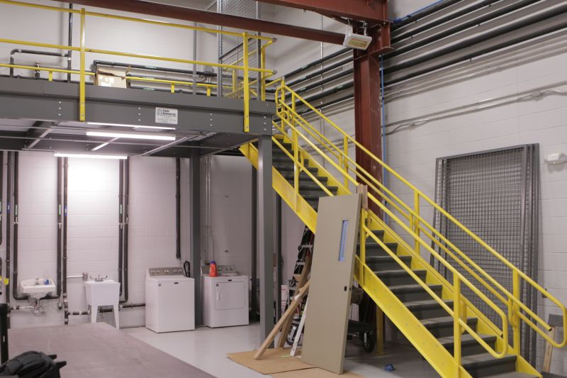 Custom Mezzanine Design & Construction | J&J Material