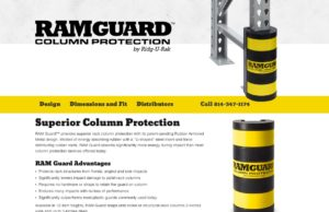 Ram Guard website - Column protection