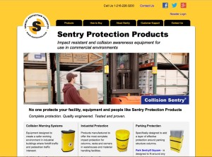 Sentry website - Impact resistant and collision awareness equipment