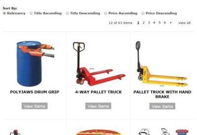 Wesco product catalog.