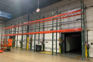 Wirecrafters pallet racking.